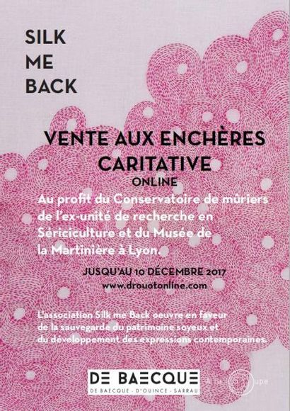 Vente caritative Silk me back – Créations Artistiques et Culinaires – Thématique Soie