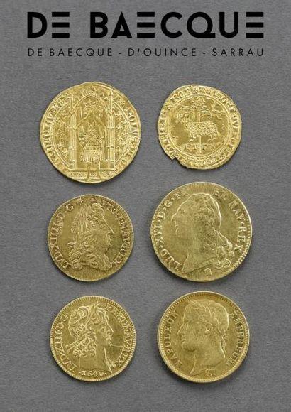 Tableaux Anciens et Modernes  - or (vente listée)
