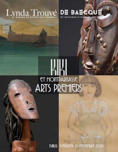 Kiki et le Montparnasse des années 1930 - Arts africains