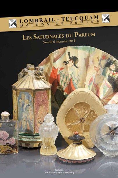Les saturnales du parfum - expert : J.M MARTIN-HATTEMBERG - DROUOT RICHELIEU