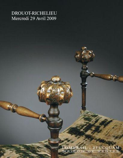 TABLEAUX ANCIENS - MEUBLES, OBJETS D'ART DES XVIe,XVIIe, XVIIIe, XIXe S.