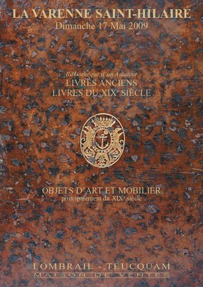 MEUBLES ET OBJETS D'ART - LIVRES ANCIENS  EXPERT : J. BENELLI