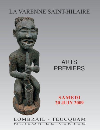 ARTS PREMIERS - HOTEL DES VENTES DE LA VARENNE SAINT HILAIRE  - EXPERT : M DUFOUR