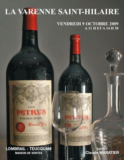 Vins et alcools   11 H & 14 H 30  - EXPERT : CLAUDE MARATIER