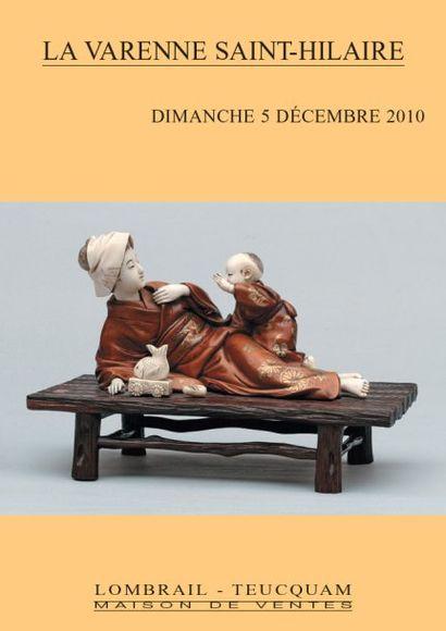 ARTS D'EXTREME ORIENT - TABLEAUX & SCULPTURES - OBJETS D'ART ET DE BEL AMEUBLEMENT  - MOBILIER