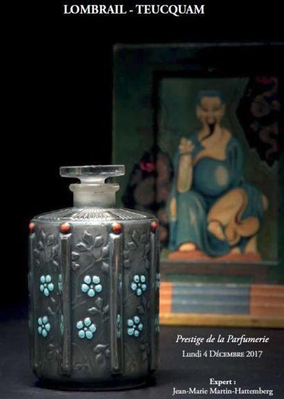 Vente à 11h15 et 14h : Flacons & Objets de Parfumerie : Les Saturnales Du Parfum