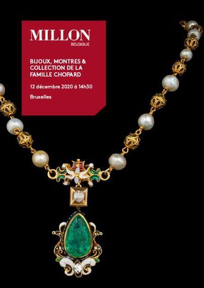 MILLON BELGIQUE : Bijoux, montres & Collection de la famille Chopard