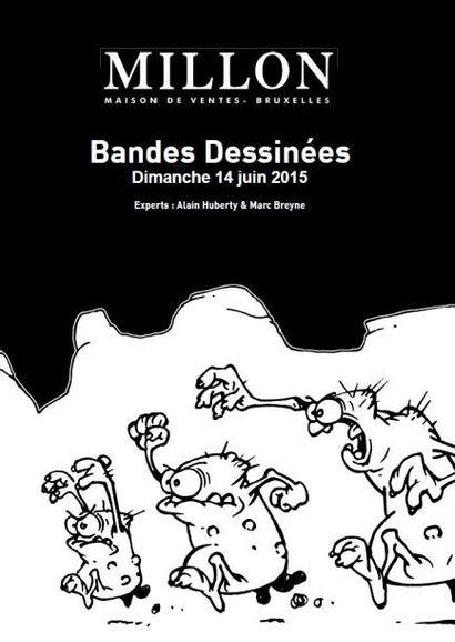 PLANCHES ORIGINALES DE BANDES DESSINÉES