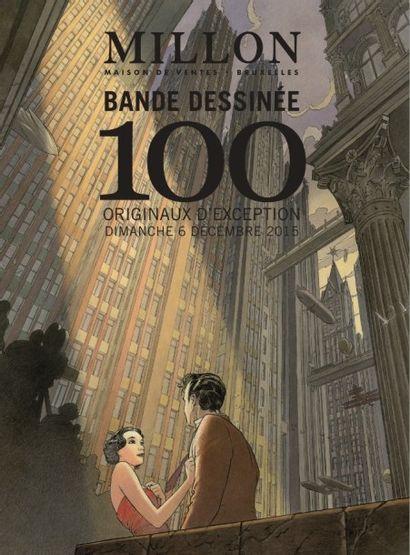 BANDES DESSINÉES - 100 CHEFS D'OEUVRES DE LA BANDE DESSINÉE FRANCO-BELGE
