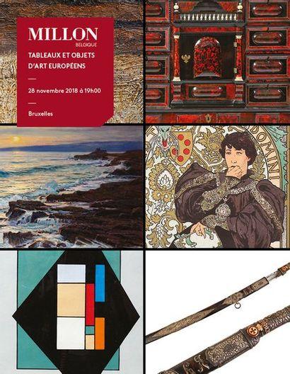 Tableaux et objets d'art européens, collections belges