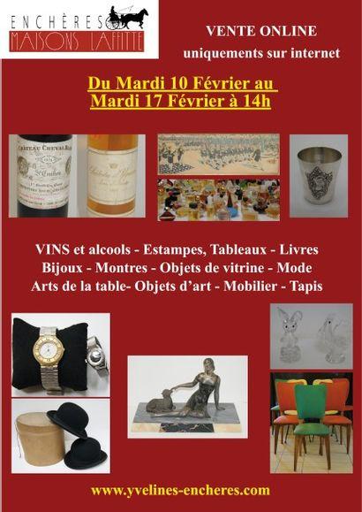 Vins, Nombreux livres dont Pléiade, Tableaux, Bijoux, Argenterie, Objets d'Art, Mobilier ...