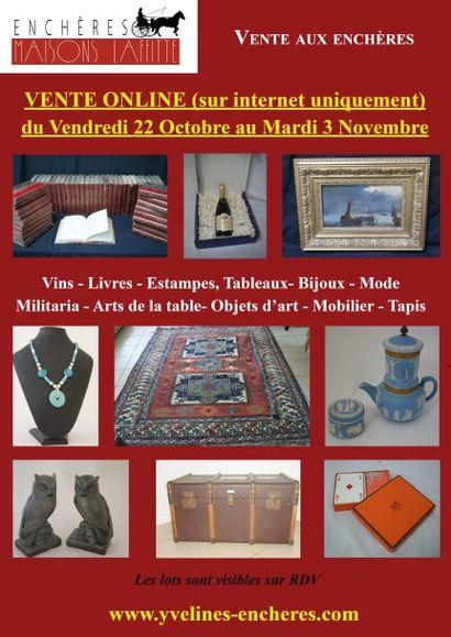 Vins - Livres - Estampes et Tableaux - Bijoux - Mode - Asie -Arts de la table - Objets d'Art - Mobilier - Tapis
