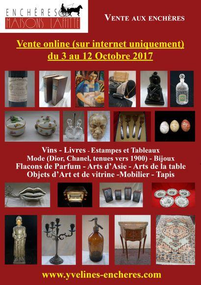 Vente online : Vins - Estampes et Tableaux - Mode et Bijoux - Arts de la Table - Objets d'Art et de Vitrine - Mode - Tapis