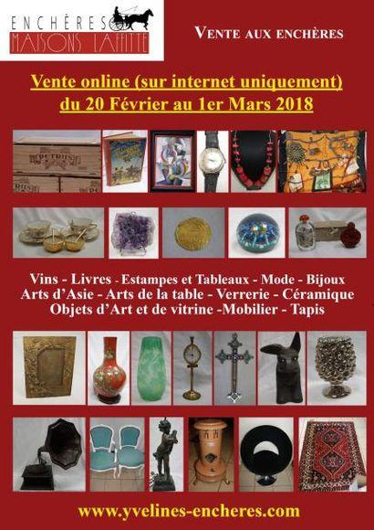 Vente online : Vins - Livres - Estampes et Tableaux - Mode et Bijoux - Arts de la Table - Objets d'Art et de Vitrine - Mode - Tapis