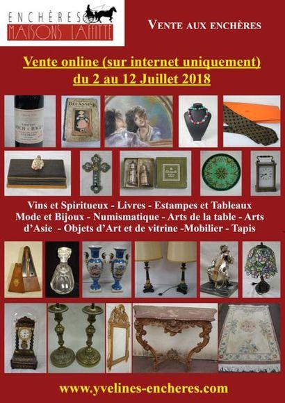 Vente online : Vins - Estampes et Tableaux - Mode et Bijoux - Arts d'Asie - Arts de la Table - Objets d'Art et de Vitrine - Mode - Tapis