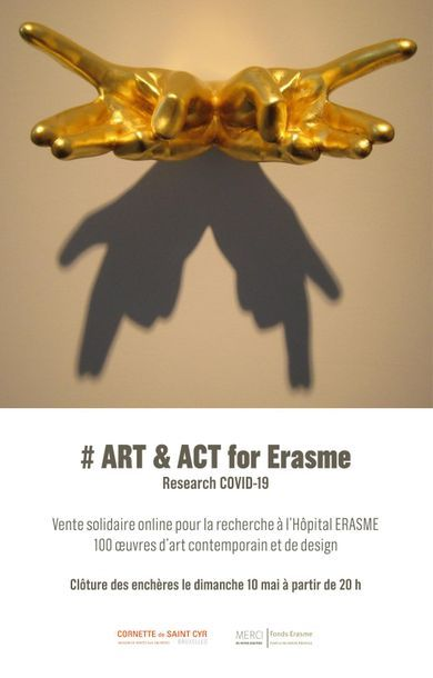 Art & Act for Erasme Research COVID-19