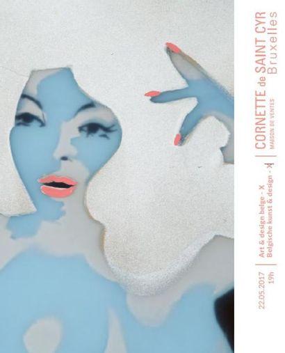 Art & design belge / Belgische kunst & design (lots 122 à 312)