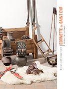 Christmas auction : Intérieur d'un chalet à Megève