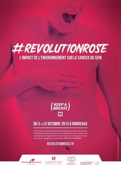REVOLUTION ROSE - KEEP A BREAST  - VENTE CARITATIVE