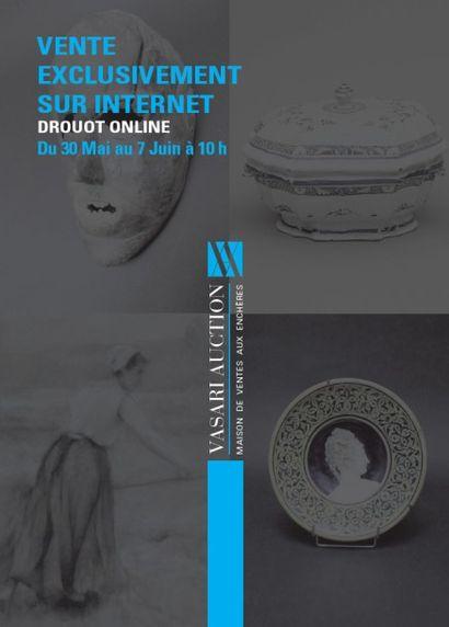 BIJOUX - ORFEVRERIE - ARTS PREMIERS AFRIQUE - TABLEAUX - MEUBLES - OBJETS D'ART - DENTELLES - LIVRES - VENERIE - CÉRAMIQUE ANCIENNE ET CONTEMPORAINE <br> Vente Drouotonline