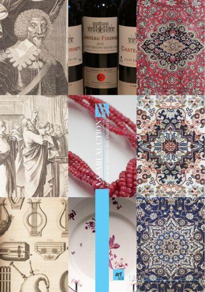 Vins & Spiritueux - Tapis - Livres anciens & modernes - Mobilier - Bijoux
