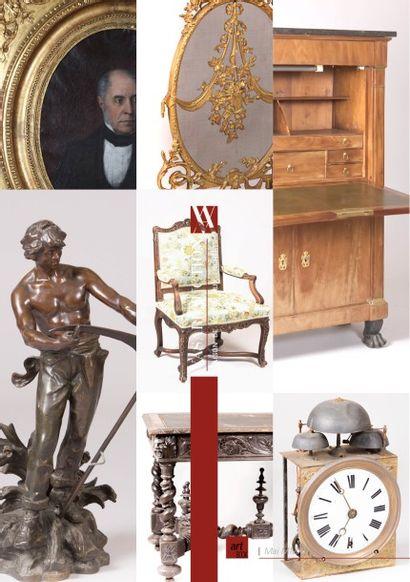 Art & Décoration  - Entier contenu d'un chateau du Bordelais, provenant de la collection de Mme de X et à divers