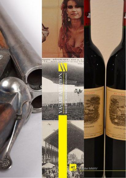 Vins fins & Spiritueux - Armes & Militaria - Cartes postales - Affiches de cinéma