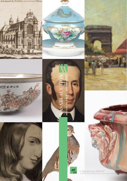 ART & DECORATION V - TABLEAUX ANCIENS ET MODERNES - MOBILIERS ET OBJETS D'ART