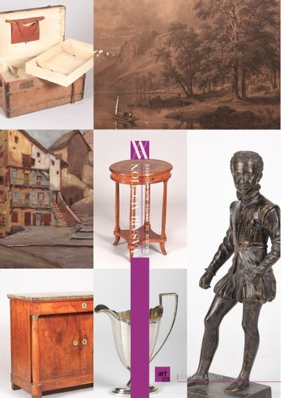 VENTE ONLINE - ART & DECORATION VII - provenant de successions et à divers amateurs