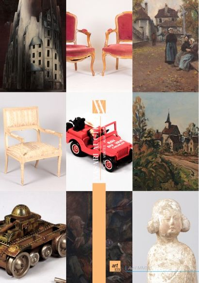 VENTE ONLINE - ART & DECORATION XI - JOUETS ANCIENS ET MODERNES - MOBILIERS ET OBJETS D'ART - ARGENTERIE - ART DE LA TABLE