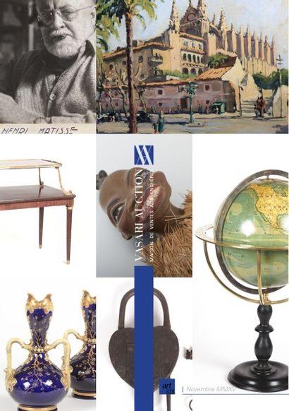 VENTE ONLINE - ART& DECORATION VIII - Photographies provenant de la Collection Denise, Robert et Agnès BARRAT - Collection de cadenas - Mobilier et Objets d'art - Verrerie - Livres & Manuscrits - Jouets - Materiel de Sport