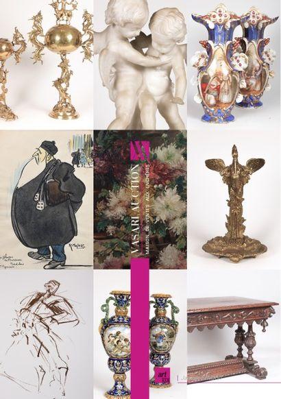 VENTE ONLINE - ART & DECORATION IX - TABLEAUX - MEUBLES ET OBJETS D'ART Provenant de la Collection de Monsieur C. & à divers amateurs