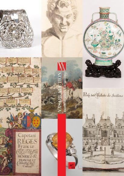 VENTE ONLINE - ART & DECORATION XIV - Tableaux - Estampes anciennes - Dessins - Meubles et Objets d'Art - Tapis - Asie - Arts premiers - Jouets