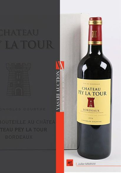 Vente de Vins - CHATEAU PEY LA TOUR Bordeaux 2014 - Vasari Auction - Enchères online