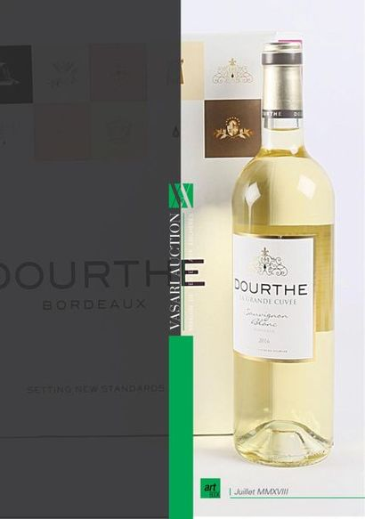 Vente de vins - DOURTHE La Grande Cuvée Sauvignon Blanc 2016 - Vasari Auction - Enchères online