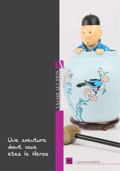 Tintin et l'enchère mystérieuse by Vasari Auction - Enchères online - Vasari Auction