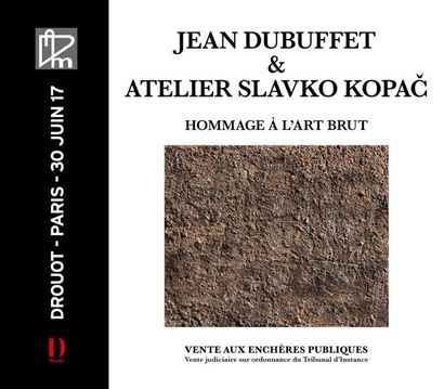 JEAN DUBUFFET & ATELIER SLAVKO KOPAC