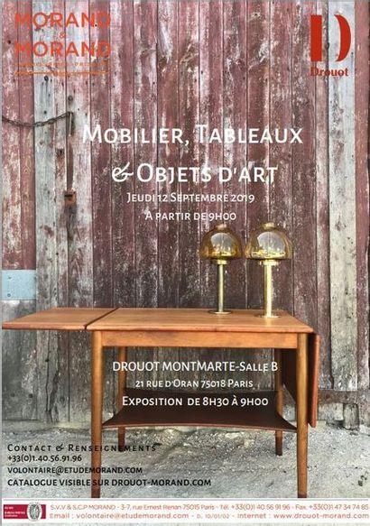 TABLEAUX, MOBILIER & OBJETS D'ART - DROUOT MONTMARTRE