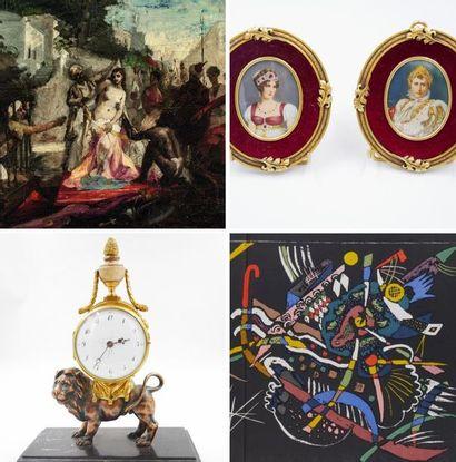 TABLEAUX, MOBILIER, OBJETS D'ART & LIVRES