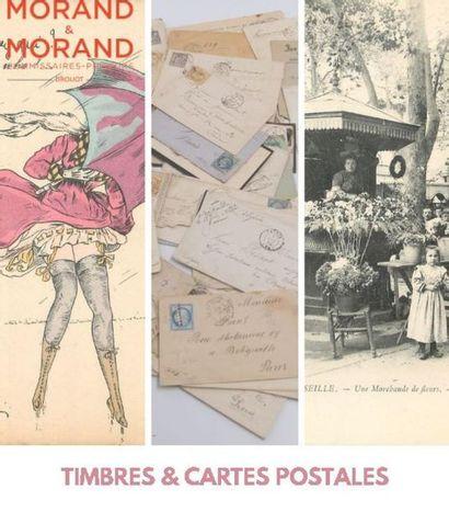 TIMBRES, CARTES POSTALES & PUBLICITÉS