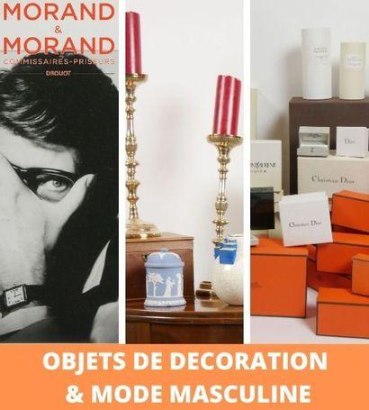 UN INTERIEUR PARISIEN - DECORATION & MODE MASCULINE - SUCCESSION DE Mr Stanislas KERLEAU