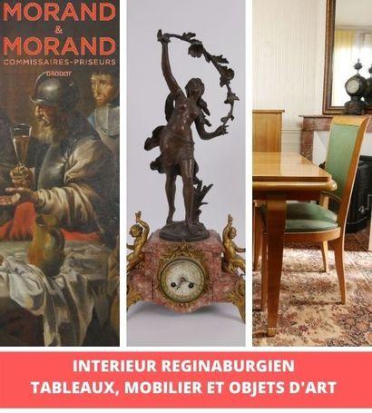 INTERIEUR REGINABURGIEN. TABLEAUX, MOBILIER & OBJETS D'ART