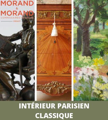 UN INTERIEUR PARISIEN CLASSIQUE