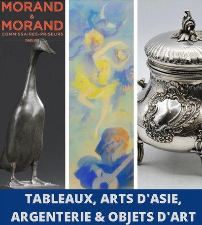 TABLEAUX, ARGENTERIE, ARTS D'ASIE & OBJETS D'ART