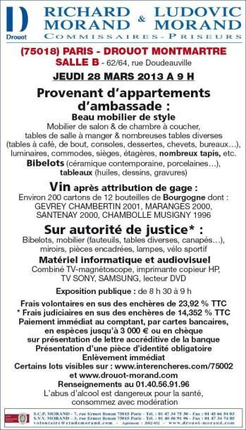 MOBILIER COURANT - VINS