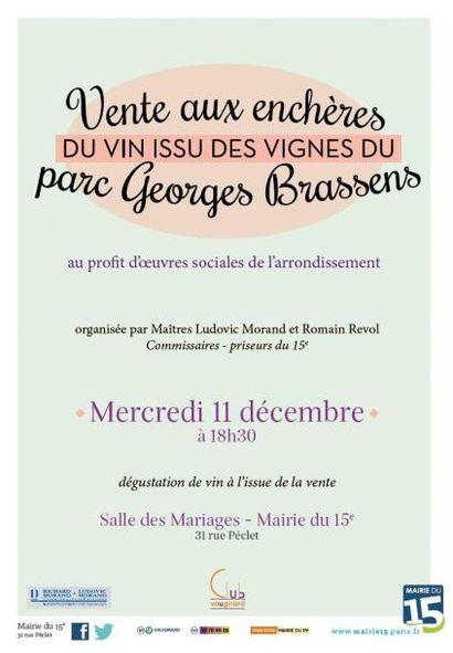 Vin du Clos des Morillons - Paris XVe