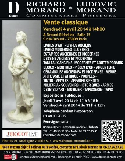 LIVRE - TABLEAUX - OBJETS D'ART & COLLECTION - MOBILIER