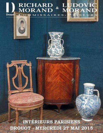 INTERIEURS PARISIENS : du classique au design.  Tableaux, Bijoux, Mode, Objets d'art, Mobilier et Design