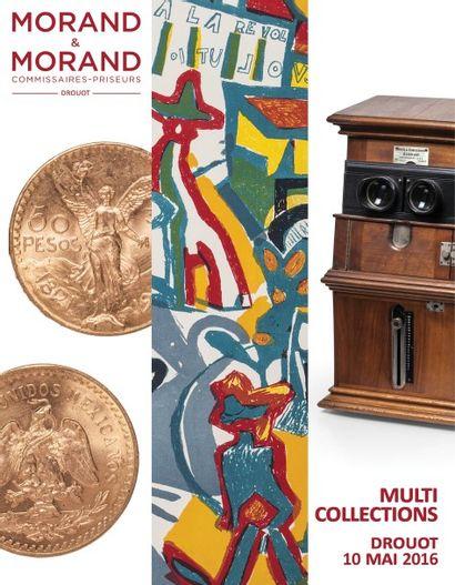 MULTI COLLECTIONS : Numismatique-Philatélie-Livres-Autour de la Carte à Jouer-Photographies-Manuscrits & Documents