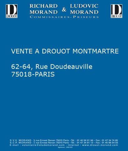 Vente à Drouot Montmartre - salle B